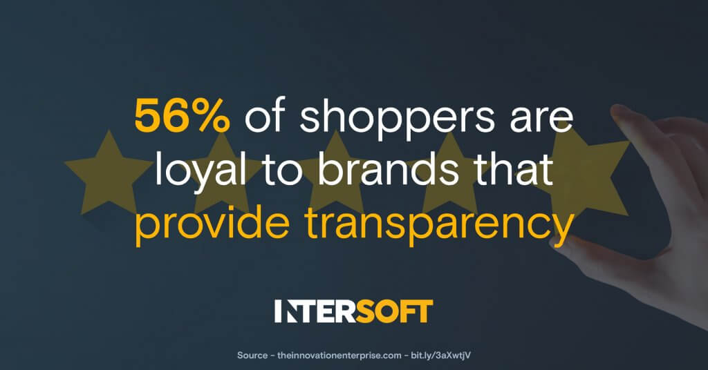 brand transparency statistic