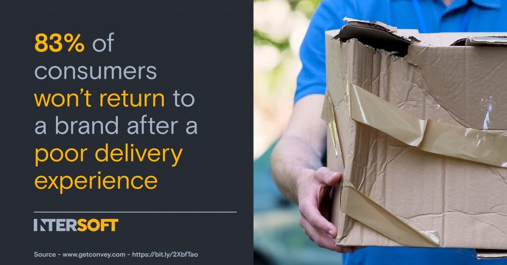 Good Delivery Experience Infographic