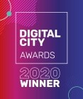 Digital City Awards 2020 Winner Badge