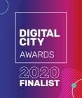 Digital City Awards 2020 Finalist Badge