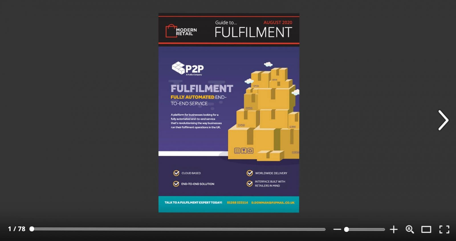 Modern Retail Fulfilment eBook