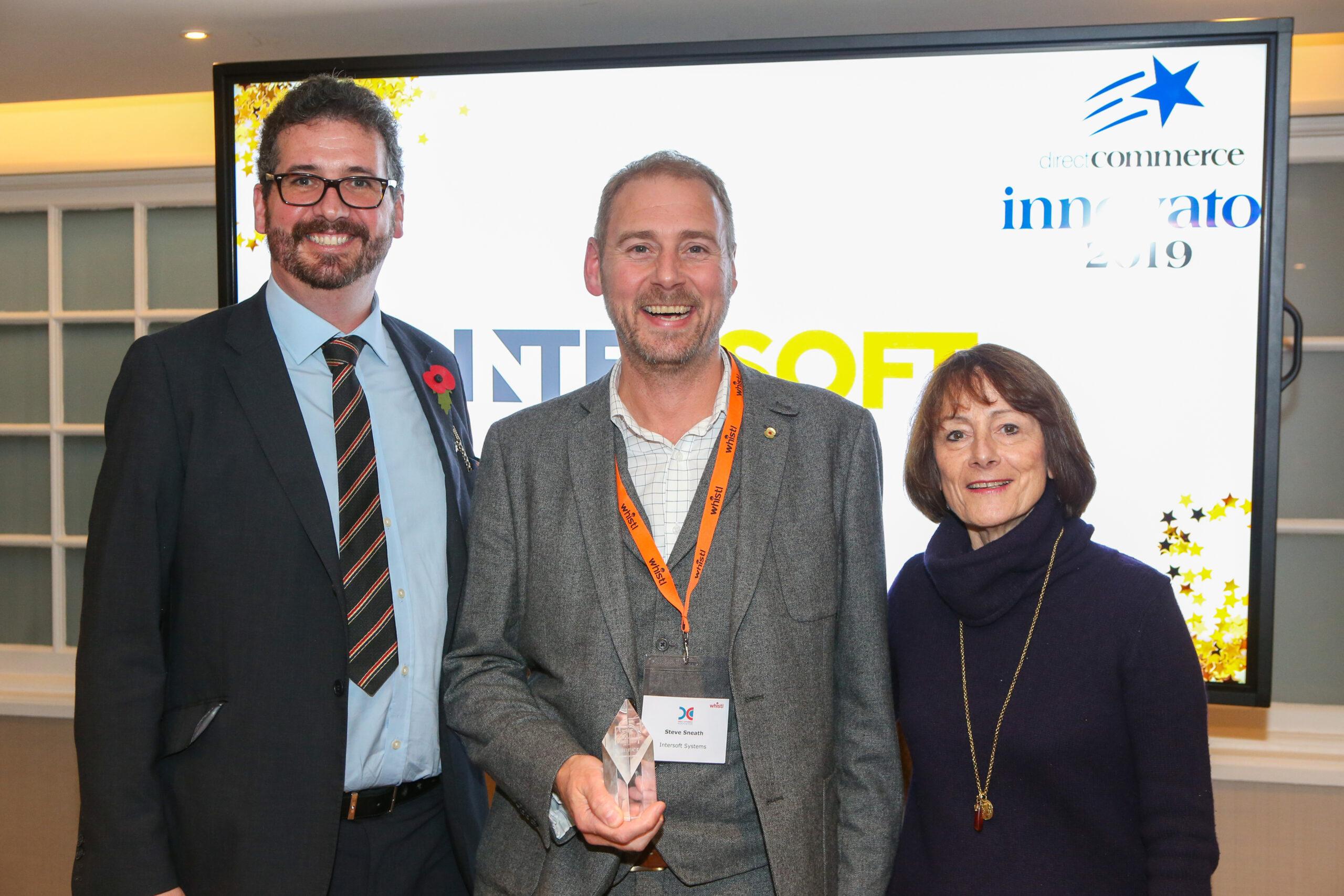 Intersoft accepting an award