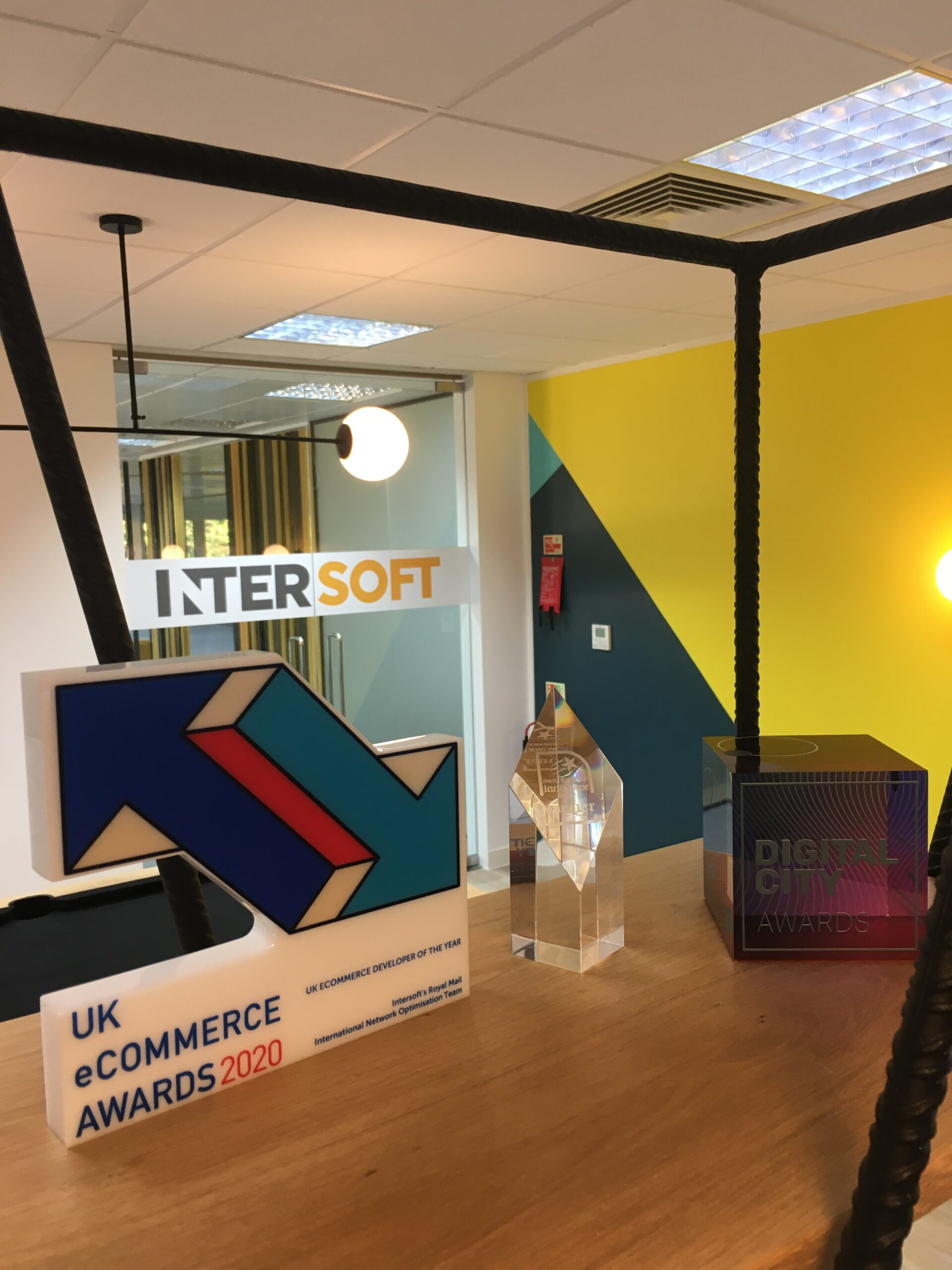 A collection of Intersoft awards